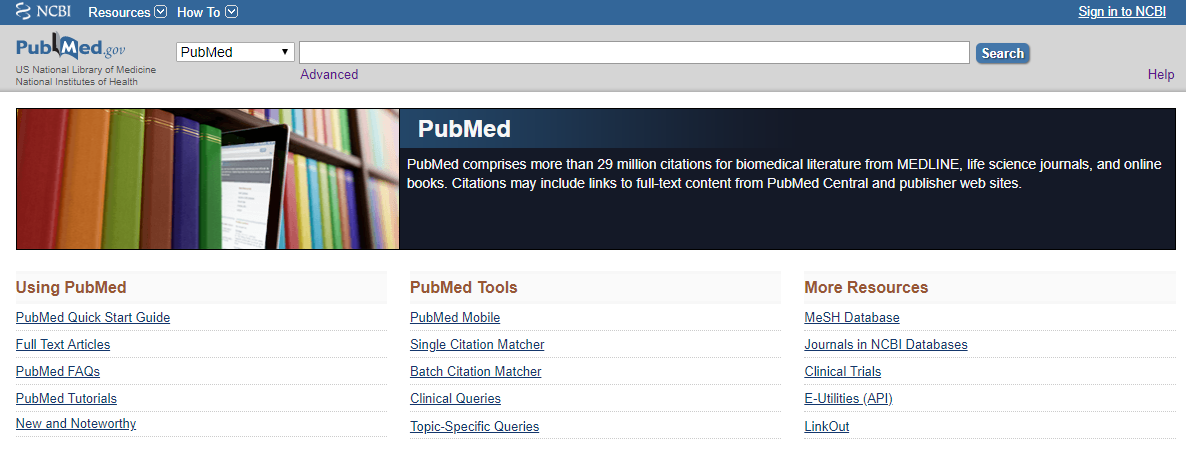 Home   PubMed   NCBI